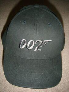 JAMES BOND 007 CREW CAP PROMOTIONAL HAT BASEBALL CAP 007 JAMES BOND NEW PREMIER