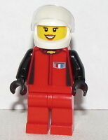 Lego Minifigure Chevrolet Camaro Z28 Girl Female Race Car Driver Minifig