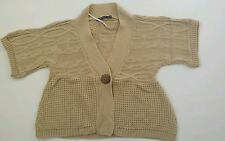 Women's Atmosphere cardigan beige color  size 10 BNWOT