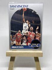 1990-91 NBA Hoops Sam Vincent #223 Michael Jordan Wears #12 Chicago Bulls