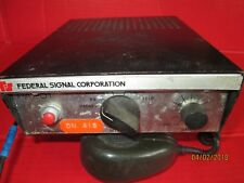 VINTAGE FEDERAL SIGNAL PA 201 SIREN CONTROLLER SWITCH CONTROL BOX POLICE FIRE