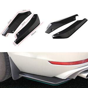 Car Side Skirts Front Bumper Lip Strip Splitter Spoiler Side Skirt For Car