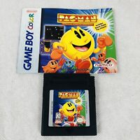 Pac-Man for Nintendo Game Boy Color Includes Pacman Booklet Clean Tested