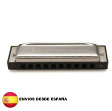 Armonica 10 agujeros 20 tonos Blues Jazz Rock Folk instrumento Musical harmonica