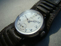Rare WW1 Rolex Military Officer's Trench watch ! First Rolex screw back / front!