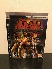 Tekken 6 PS3 Complete Tested Working With Slip Cover PlayStation 3 2009