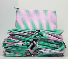 NEW! Lot of 36 X Clinique Pink & Green Color Cosmetic Makeup Bag