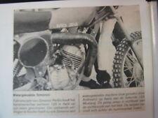 Clipping Simonini 125cc (jaren 70 / 80 NED)