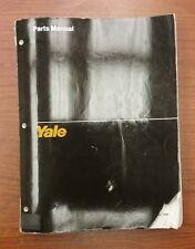 YALE PARTS MANUAL ERC 040-060 RA/ZA (1513)