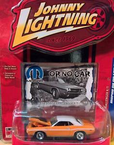 70 Dodge Challenger R/T -Johnny Lightning-1:64- Mopar or no Car Rel.12 - OVP