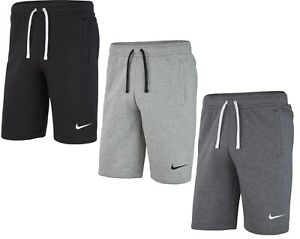 Men's Nike Logo Shorts Club19 Fleece Shorts - Sports Gym Long Knee Length