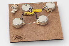 "Prewired Assembly FITS Gibson ® les paul-crazyparts .022uf Caps/CTS ""TVT"" Longs. Pots"