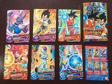 Dragon Ball Heroes McDonald Campaign 6 Promo Cards Complete Set FREE SHIPPING