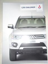 Mitsubishi L200 Challenger brochure Dec 2014
