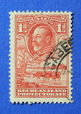 1932 BECHUANALAND PROTECTORATE 1d SCOTT# 106 S.G.# 100 USED              CS20644