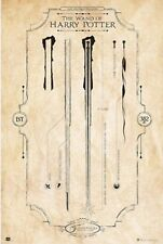 THE WAND OF HARRY POTTER Poster - Ollivanders Wands Full Size 24x36 Print
