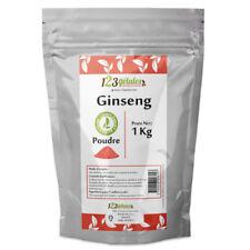 Poudre de Ginseng Rouge Panax 1 kg