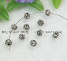 100x Bali Style Alloy Metal Spacer Beads 8mm Jewelry Making Beads