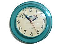 Detrol LA Pharma Drug Rep Promo Collectable Wall Clock Multicolor Round