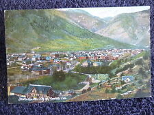 Early 1900's A Bird's Eye View of Manitou, CO Colorado PC