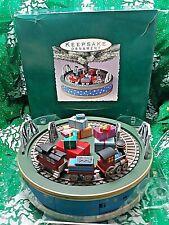 Hallmark Animated Holiday Express Miniature Tree Base - Handcrafted 1993