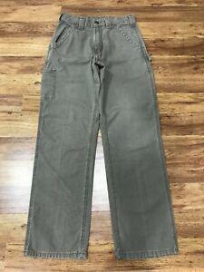 MENS 30 x 32 -  Carhartt B151 Canvas Loose Fit Work Pants