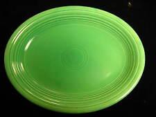 "Vintage Fiesta Ware 12-1/2"" Green Serving Platter"