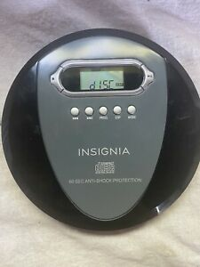 Insignia Portable CD Player NS-P4112 No Headphones 60 Second Anti Shock Works