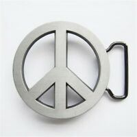 New Vintage Peace Symbol Love Sign Belt Buckle also Stock in US
