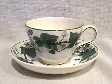 Wedgwood Napoleon Ivy Cup and Saucer