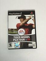 Tiger Woods PGA Tour 08 (Sony PlayStation 2, 2007) PS2 Video Game NO MANUAL