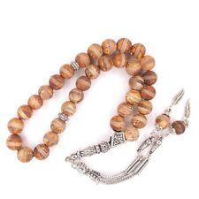More details for tibetan agate worry beads aqiq prayer beads aqeeq tasbih akik tesbih tasbeeh 327