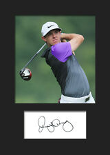 RORY MCILROY #1 Signed Photo A5 Mounted Print (REPRINT) - FREE DELIVERY