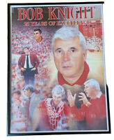 Bob Knight Artwork 25 Years of Excellence by Mid-America Publishing INC Framed