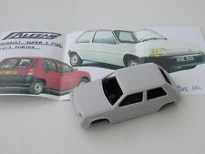 ALEZAN MODELS . 1/43 . RENAULT SUPER 5 FIVE . 3 PORTES . 1988 .