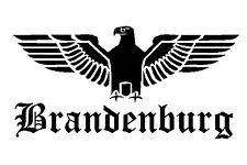 Reichsadler Brandenburg Auto Aufkleber Sticker Schrift Adler Deutschland shocker