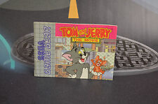 MANUEL D' EMPLOI TOM ET JERRY THE MOVIE SEGA GAME GEAR