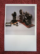 VINTAGE  FILM  EQUIPMENT   NATIONAL  FILM&SOUND    COLOUR  POSTCARD [434]