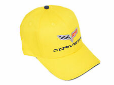 Corvette C6 Sandwich Bill Hat Millennium Yellow