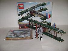 LEGO 10226 Sopwith Camel Green Bi Plane Building Toy RETIRED RARE