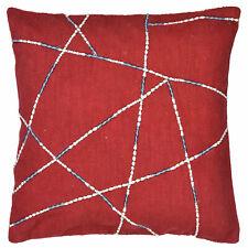 Unique Embroidered Throw Cushion Cover Cotton Sofa Kilim Pillow Case 18x18