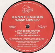 DANNY TAURUS - More Lies E.P. - dansa