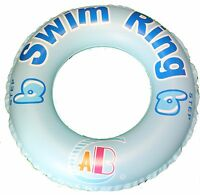 INFLATABLE TYRE TUBE SWIM RING BEACH SWIMMING POOL AID TOYS LILO FLOAT SAFE GOOD