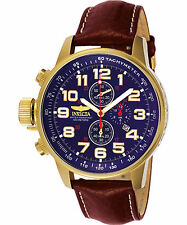 Invicta Men's 3329 I-Force Quartz 3 Hand Blue Dial Watch