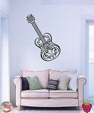 Wall Stickers Vinyl Decal Music Guitar Musical Instrument z1148