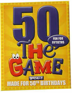 50th Birthday Gift for Men or Women: 50th game plus free 50th birthday gift wrap