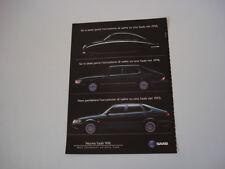 advertising Pubblicità 1993 SAAB 900
