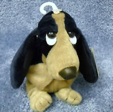 """Hush Puppy Special Edition Bean Bags Plush Toy Applause #61284 Navy/Tan 5"""""""
