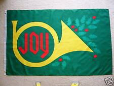 3' X 5'  CHRISTMAS JOY  FLAG 3 X 5