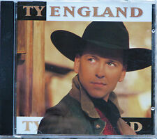 TY ENGLAND self-titled CD Redneck Son, Smoke In Her Eyes, Should've Asked Sooner